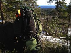 Anzelten 2012 - Erstes Camp im norwegischen Wald