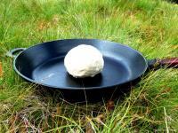 Bannock Trapper Brot aus der Pfanne