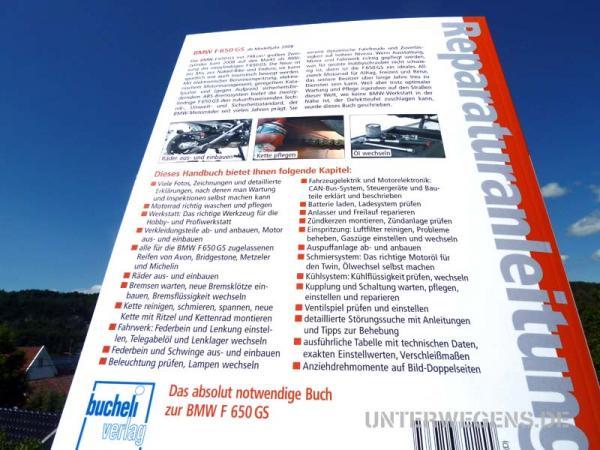 BMW F650GS F800GS Reparaturanleitung 5286  Bucheli
