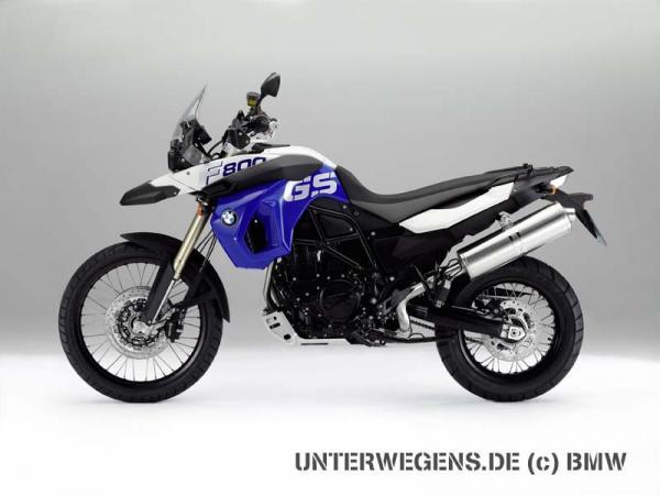 BMW F 800 GS Trophy 2012