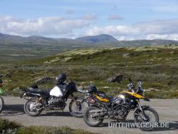 Bukkerittet 2011 Motorrad Treffen in norwegischen Bergen