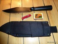 Cold Steel Bowie-Messer Bushman SK-5 Stahl Ganz-Stahl Outdoor