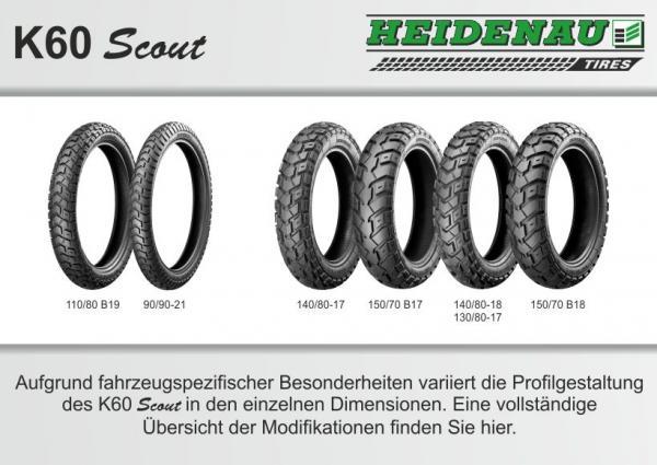 Heidenau K60 Scout Uebersicht Enduro Reifen
