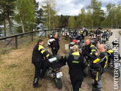 Motorrad Enduro Tour Norwegen und Schweden 2014 - International Allroadtour