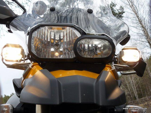 test zusatzscheinwerfer motorrad