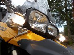 Micro-Flooter Zusatzscheinwerfersatz BMW F800GS