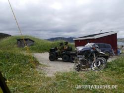 Nordkap Enduro Tour 2011 - Barentsee mit dem Motorrad