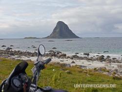 Nordkap mit dem Motorrad 2011 Norwegen Polarkreis