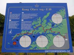 Norwegen Lofoten Motorrad Endurowandern