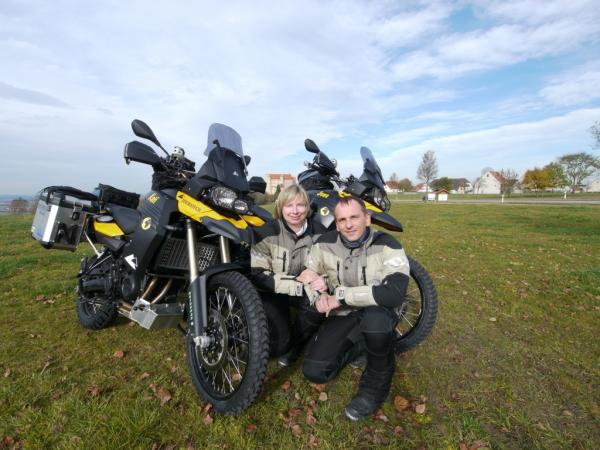 BMW F800GS Around-the-World