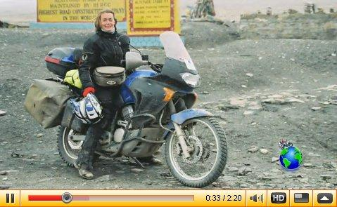 Ladies auf Motorrad Abenteuerreisen