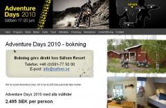Adventure Days Sweden 2010