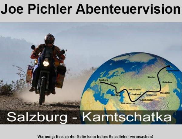 Joe Pichler Salzburg-Kambotschathka- Tansasien 2010