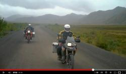 Kanada Polarkreis Video Motorrad BMW KTM