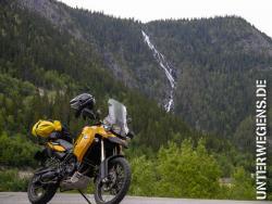 Fjordnorwegen mit dem Motorrad
