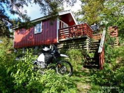 Südnorwegen Küstentour 2011 mit Motorrad nach Kristiansand