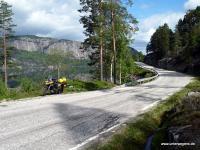 Motorrad Tour Südnorwegen auf BMW F800GS
