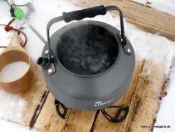 Outdoor Wasserkessel Primus LiTech Kaffekessel Teekessel 0,9 Liter 150g