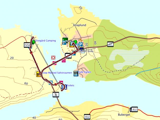 Fjordnorwegen Motorradtour 2013: Tag 6 -Saltstraumen Norwegen