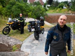Westküsten Motorradtour Norwegen 2013