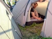 Richtiges Zelt zur Motorradtour