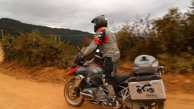 Video: A GS around the world - Laos 2013 auf BMW R1200GS