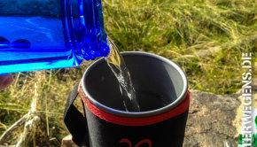 Trinkwasser Wasseraufbereitung Tour Outdoor