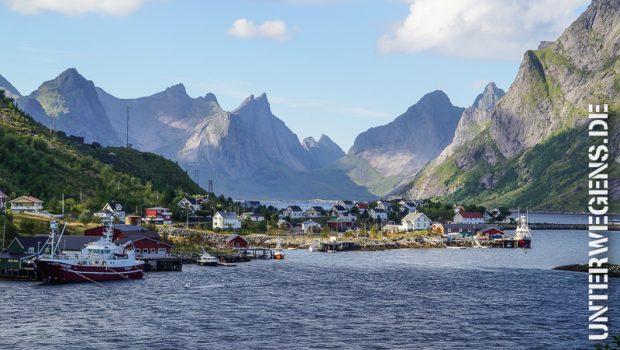 Fjordnorwegen Motorradtour 2013: Auf den Lofoten (Tag 4)