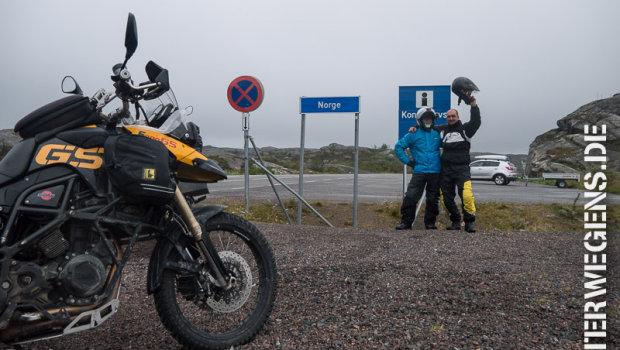 Fjordnorwegen Motorradtour 2013: Über den Polarkreis nach Norwegen (Tag 3)