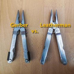 Leatherman vs. Gerber - Der Multitool Freundschaftskampf