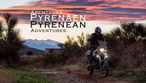 Abenteuer Pyrenäen Motorrad Reise Enduro DVD Projekt