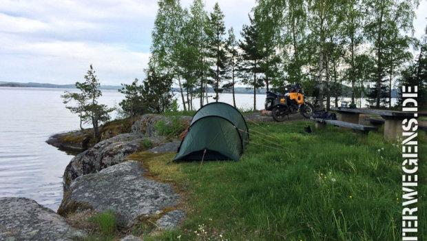 BMW GS Meeting Schweden 2014 mit Sturz und guter Laune