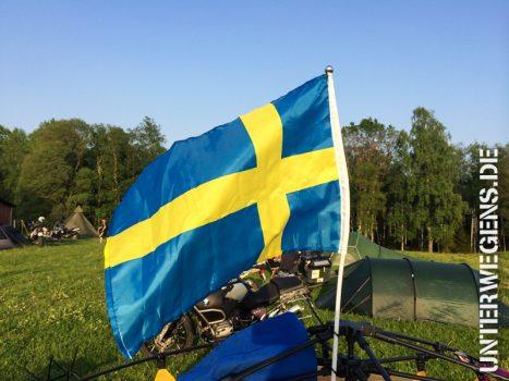 Motorrad Sommerfeeling in Südschweden